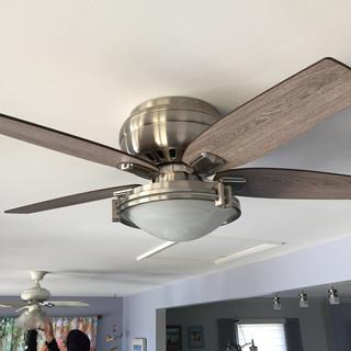 New Fan. Old fan in background.