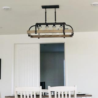I absolutely love this light fixture