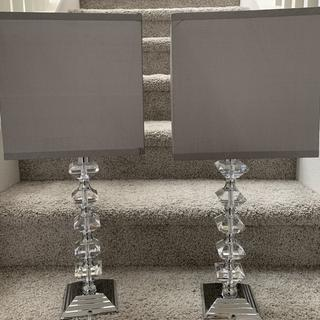 They look so nice. Easy to assemble. Came with lightbulb ready. Perfect for a modern chic design.