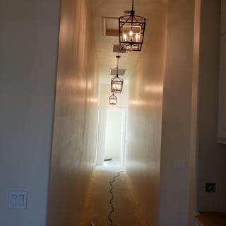 Absolutely beautiful down the back hallway!!