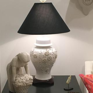 Lovely update to a dowdy 1970's lamp.