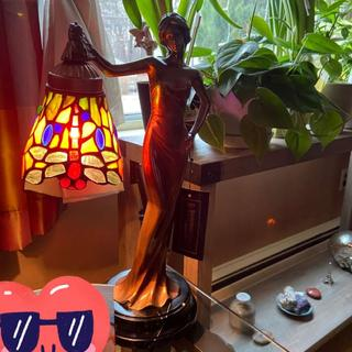 Gorgeous Tiffany-style lamp
