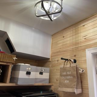 Perfect touch for renovated laundry room