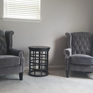 Love. LOVE. Love these chairs! They are so comfy and aesthetically pleasing.