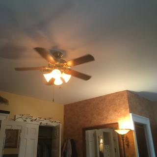 Added these to our MBR ceiling fan. Lovely warm light-a little under lit. Wish they came and 100w