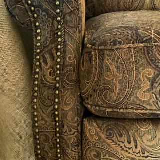Great attention to detail during the upholstery process