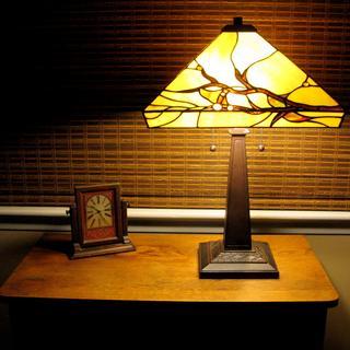 My beautiful new lamp.