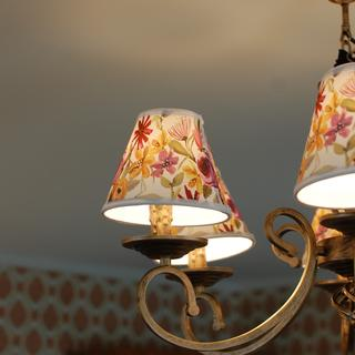 Used on a six arm antique brass chandelier. Very happy with them.