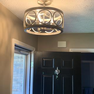 We are absolutely thrilled to pieces with this very well-made and beautiful light!