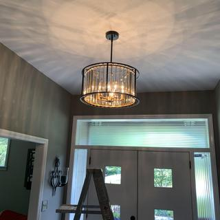 This is the chandelier