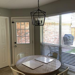 Great light, super easy to install! Perfect for over our kitchen table!