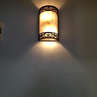 Love my new hall lights!