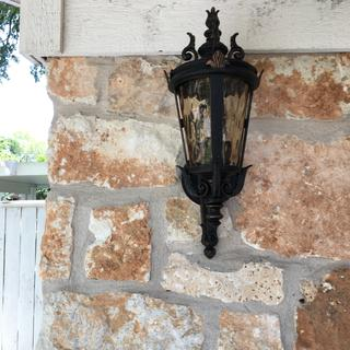 Garage lamp is beautiful!
