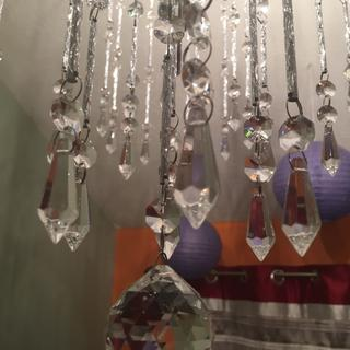 Crystal close up view