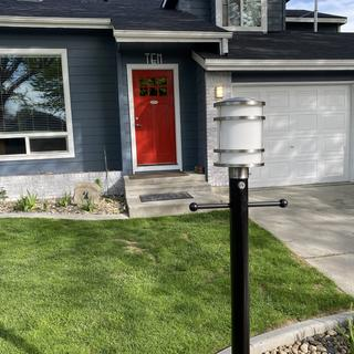 Looks awesome!  Such a boost in curb appeal.