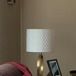 Looks great with my lamps.