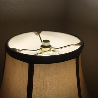 Top of table lamp