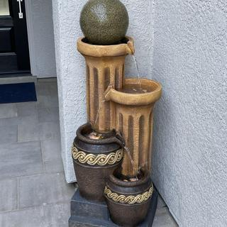 Love this fountain! It's a perfect addition to our portico!