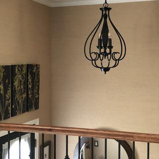 Perfect for split foyer