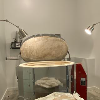 Task lighting for a kiln