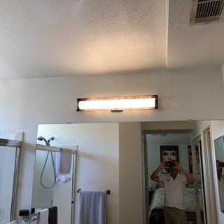 bright led vanity light
