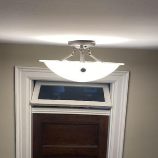 Lamps plus ceiling light