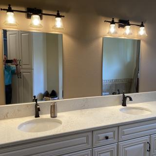 Great lights to add to our redone master bath.