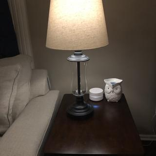 Love these lamps! Very simple, but not plain.