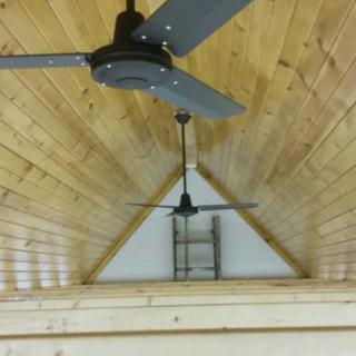 Vaulted area in my garage