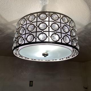 Love my new light in my kitchen!!