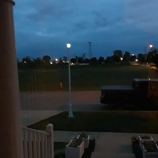 New Baytown light on old post...