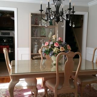 We purchased this chandelier and bulbs that were suggested...perfect choice!