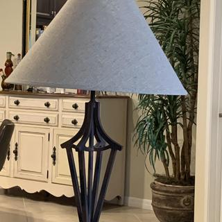 I've had this lamp for 22 years works great with my decor, I love the new shade