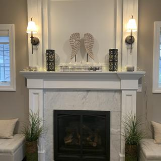 These sconces are perfect!
