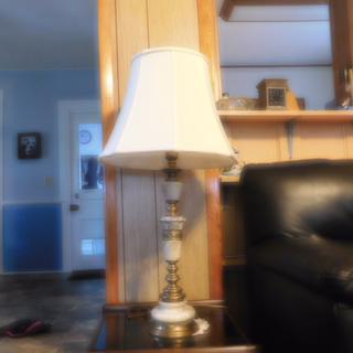 Creme Bell Curve Cut Corner Lamp Shade 11x18x15 (Spider)