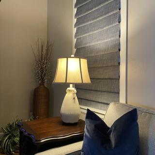 Beautiful lamp for our farmhouse decor.
