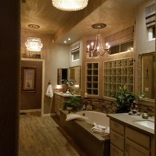 Glamorous Master Bath