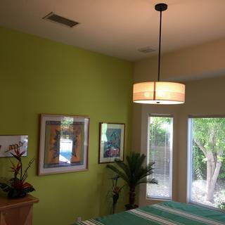 lamp shows seams