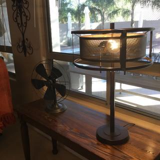 Derek Bronze Table Lamp