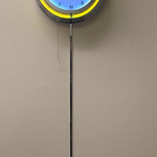 I am very pleased with this CHROME cord cover. It matches the custom made neon clock perfectly.