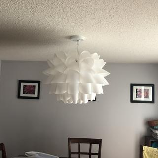 Using as a smaller dining room light