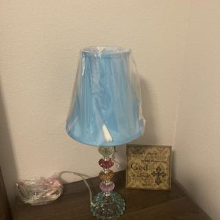 As you can see bottom portion is teal does not match color of lamp shade .