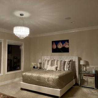 Love our Chandelier so much! It is the perfect addition to our bedroom.