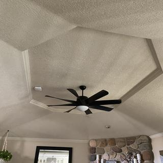 Love this fan.  The dual lighting feature is awesome.  Easy installation.