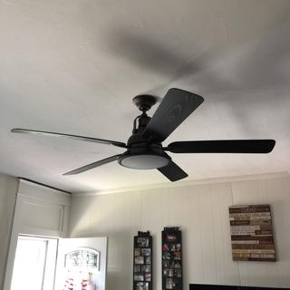 just awesome!!!!! I just installed this fan in my living room totally love It ????