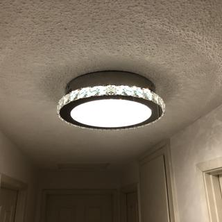 One of 3 hall lights