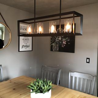 Loving this lighting addition!