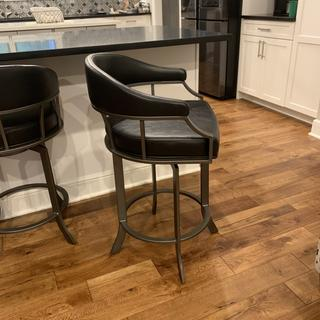 These stools are made solid and are very comfortable.