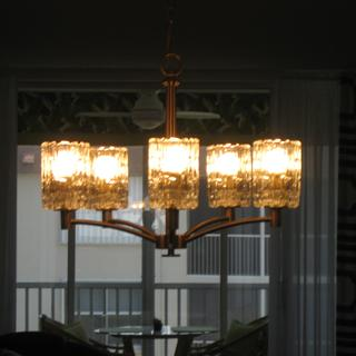great light for dining or playing cards