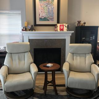We love our swivel recliners!